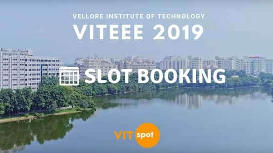 VITEEE Slot Booking 2020: Book your slot now